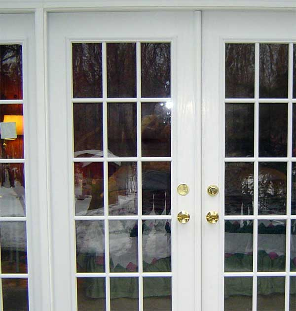 Installing french doors on the house for Installing french doors