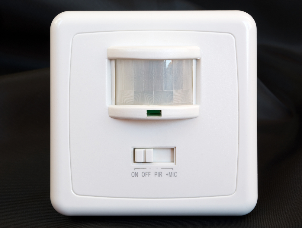 Automatic light switches on the house