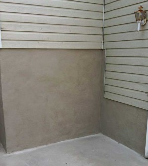 stucco foundation