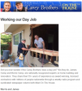 The Carey Brothers April 2014 Newsletter