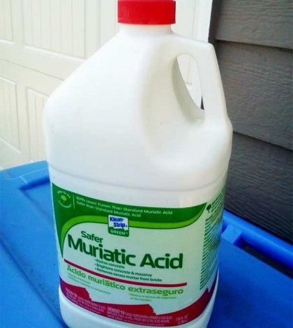 muriatic acid for cleaning masonry