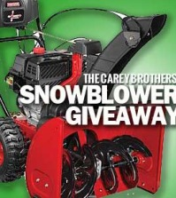 Craftsman Quiet Technology Snowblower Giveaway