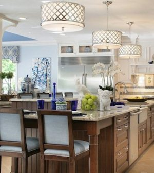 get ready for fall entertaining with kitchen island lights - on