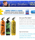 The Carey Brothers On The House Newsletter