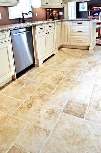 Help, Ceramic Tile Cracks On My Kitchen Floor!