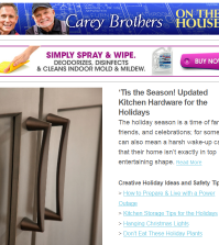The Carey Brother's On The House Newsletter