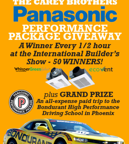 The Carey Brothers Panasonic Performance Package Giveaway