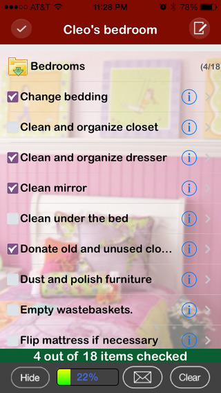 Spring Cleaning App