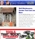 Well Maintenance, Tools and Apps