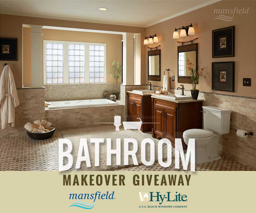 Mansfield Plumbing and Hy Lite Giveaway. The 2015 Bathroom Makeover Giveaway   On the House