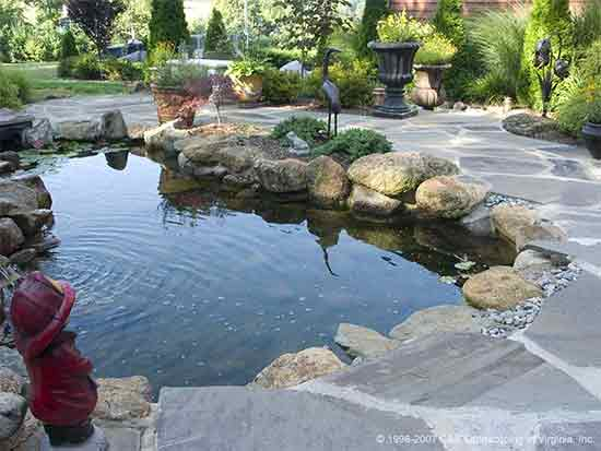 11 ways to creating a backyard fantasy on the house for Prefab waterfalls for ponds