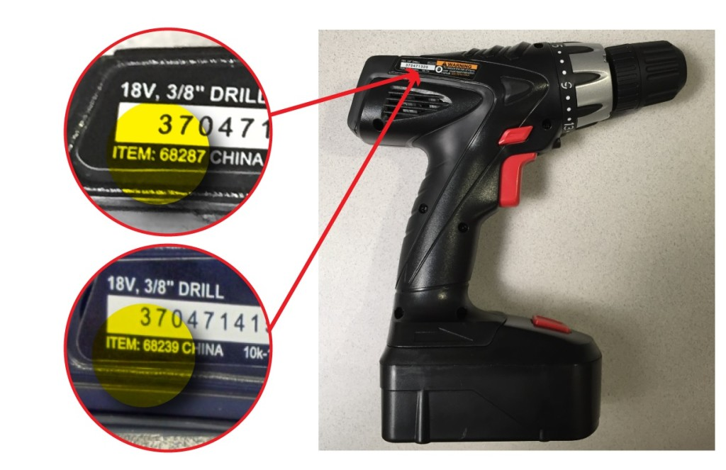 Harbor Freight Tool Recall