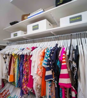tips for organized bedroom closet on the house