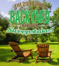 Backyard Makeover Sweepstakes