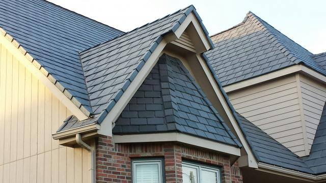 Fiberglass Slate Roof : Show notes asphalt vs fiberglass shingles on the house