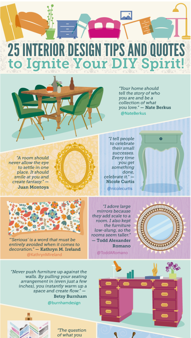 25 Interior Design Tips And Quotes On The House