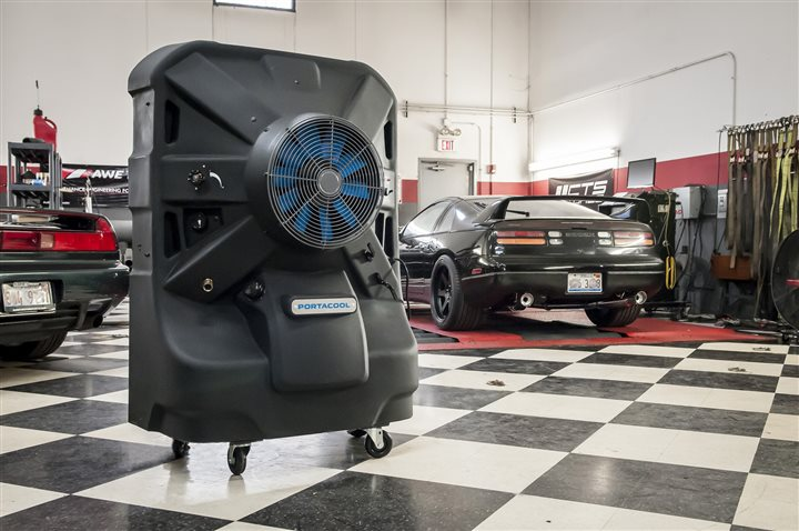 Cooling your garage