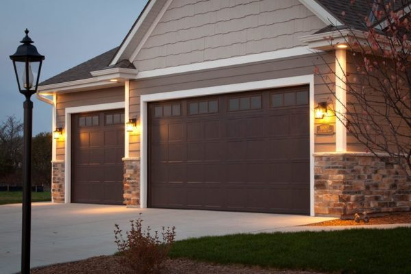 Curb appeal month tips for selecting a garage door on for Garage door curb appeal