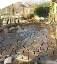 recycle concrete patio