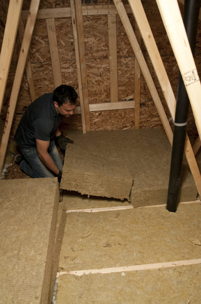 Roxul insulation & Upgrade attic insulation to save on energy expenses - On the House