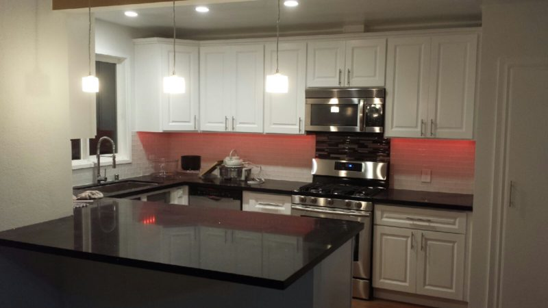 Kitchen Cabinets Plywood Or Particle Board On The House