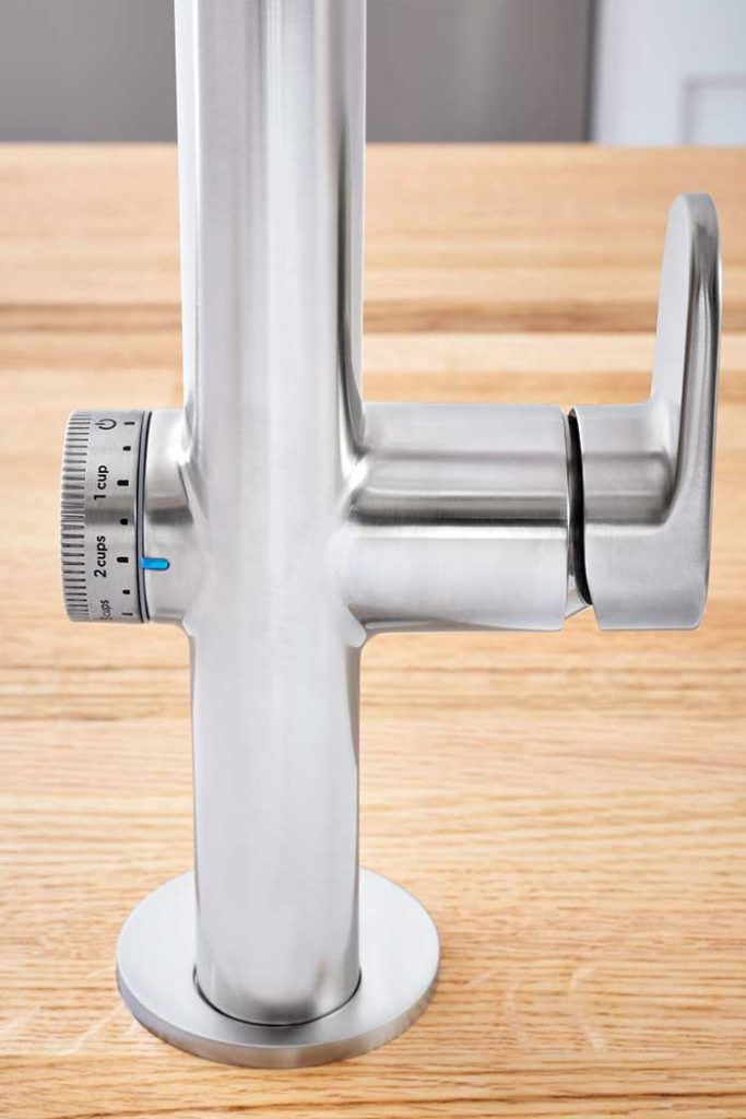 Pioneering Beale Measurefill Kitchen Faucet Dispenses