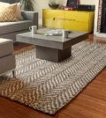 Mixed area rugs