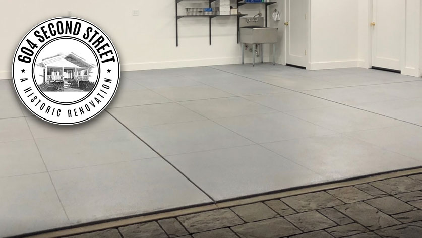 Daich Coatings - concrete overlay